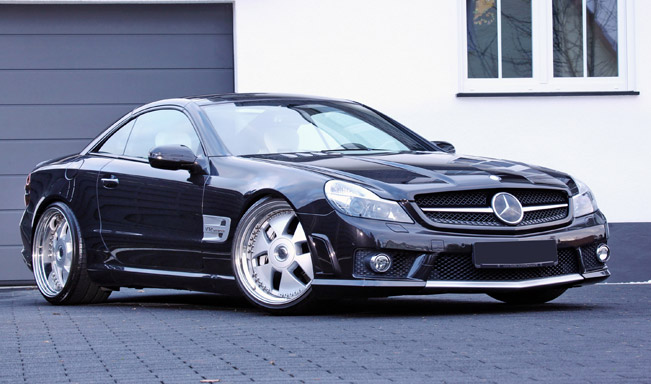 Mercedes-Benz CL, CLS and SL