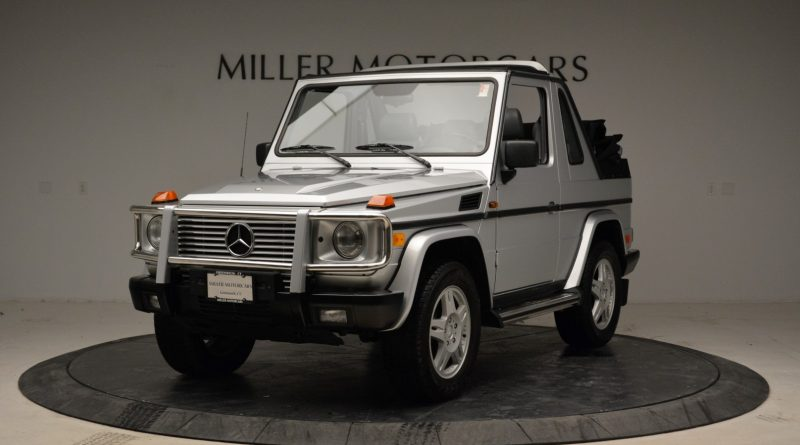 1999 Mercedes Benz G500 Cabriolet For Sale