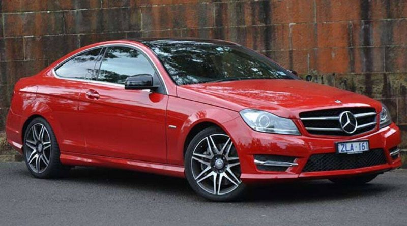 2013 Mercedes-Benz C250 Coupe Sport